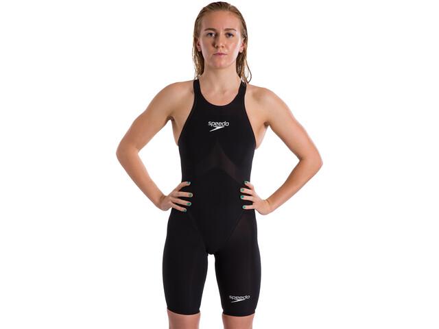 speedo Fastskin LZR Pure Valor Combinaison courte à dos nu Fille, black